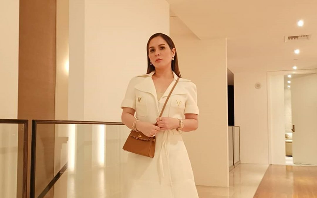 LOOK: Jinkee Pacquiao wears P200,000 Valentino dress for Manny's fight