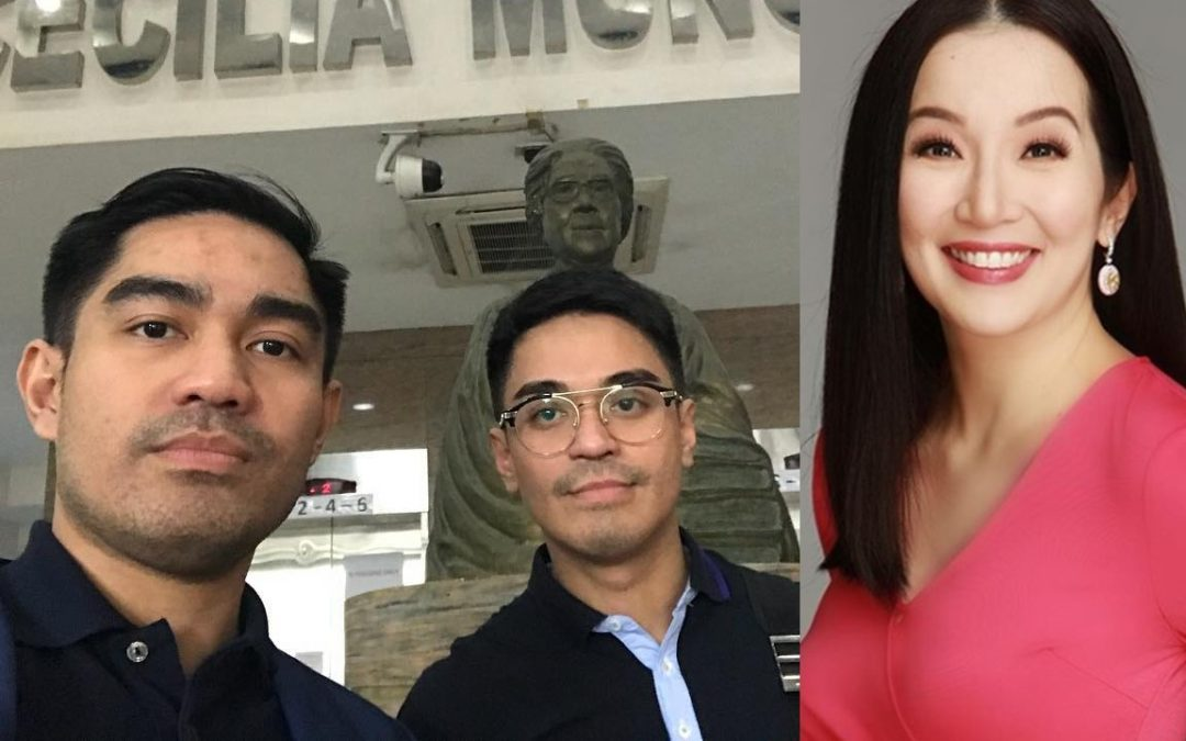 Falcis brothers file grave threat case against Kris Aquino