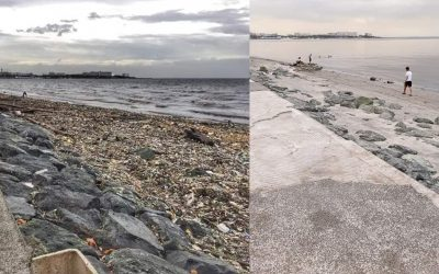 40 tons of garbage removed from Manila Bay after cleanup drive