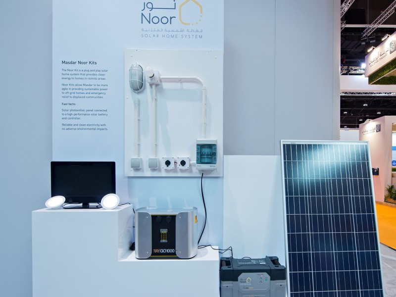 Masdar to bring solar power to 'off-grid' communities around the world