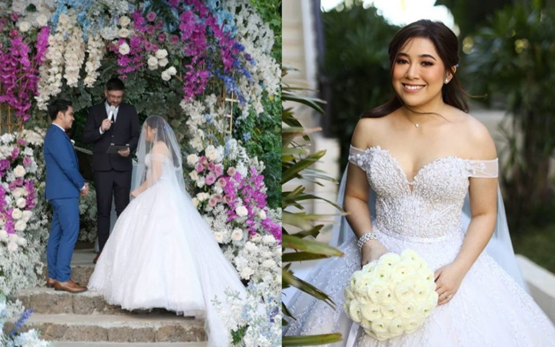 IN PHOTOS: Moira dela Torre, Jason Marvin tie the knot in Tagaytay