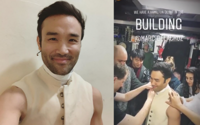 """Pinoy given lead role at hit Broadway Musical """"Hamilton"""""""