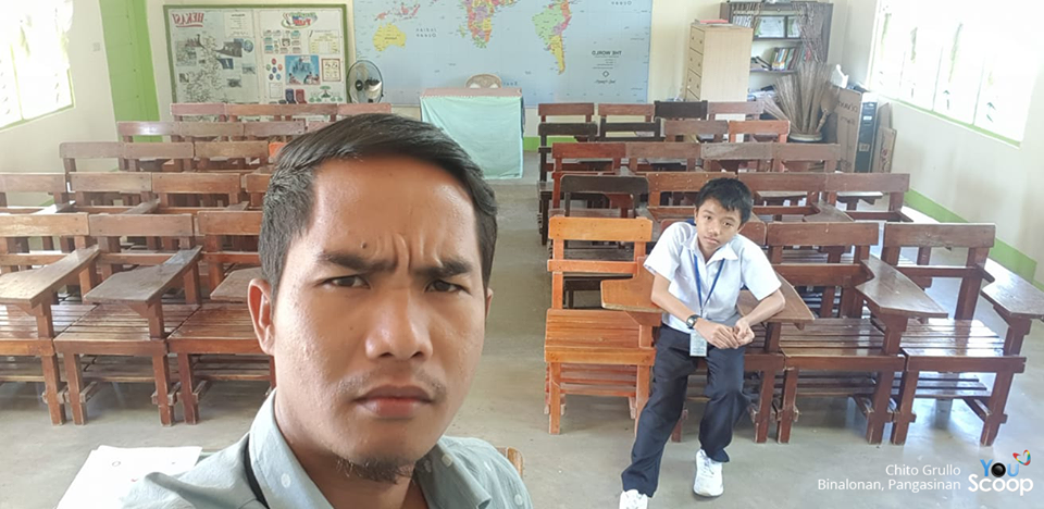 VIRAL: Teacher shocked after only one of his students came to school after holiday