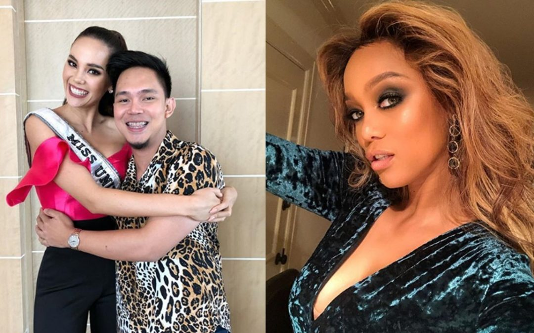 Tyra Banks orders custom-made shoes from Catriona Gray's shoe designer