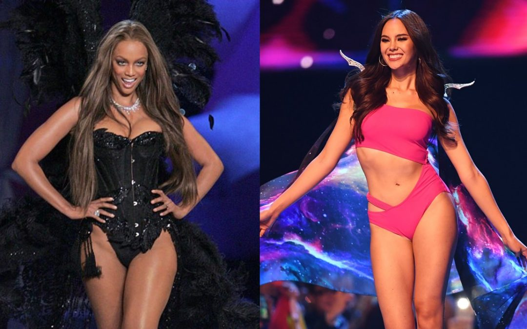 "WATCH: Catriona Gray's ""Lava Walk"" meets Tyra Banks' ""Volcano Strut"""