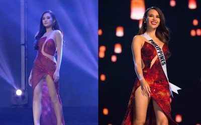 Miss Vietnam accused of copying Catriona Gray during 47th Miss Intercontinental pageant