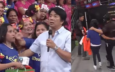 "WATCH: Willie Revillame lectures mother who left baby at home to watch ""Wowowin"""