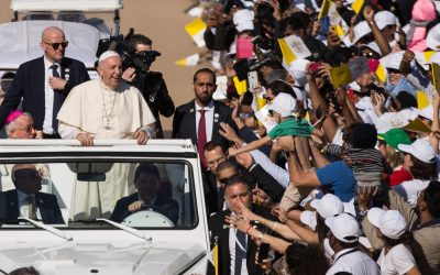 Pope caps historic UAE visit with 180,000 Catholic faithful in attendance at Papal Mass