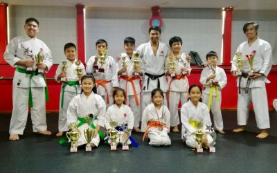 Young martial arts aficionados reap what they sow