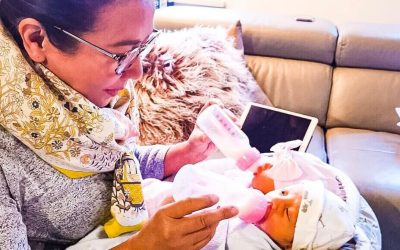 LOOK: Korina Sanchez, Mar Roxas welcome twins