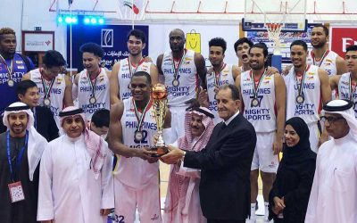 PH basketball team bags bronze medal in Dubai tourney