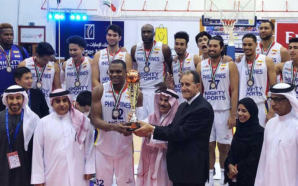 PH basketball team bags bronze medal in Dubai tourney