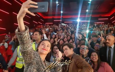 "WATCH: LizQuen meets Pinoy fans in UAE during ""Alone/Together"" screenings"
