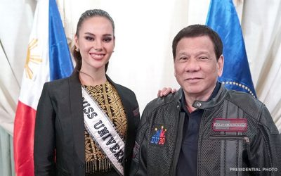 Duterte to tap Gray as PH tourism ambassador