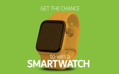Win smartwatch by not using your car on Feb. 24