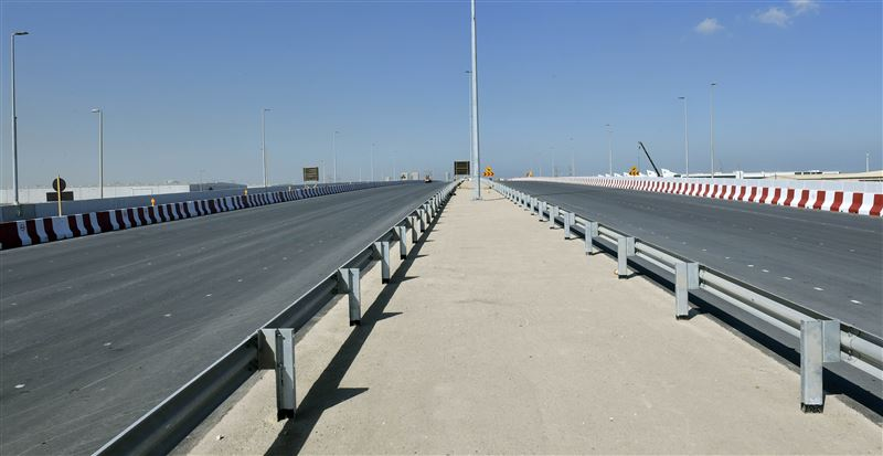 RTA opens main bridge at intersection of Expo Road, Al Asayel Street