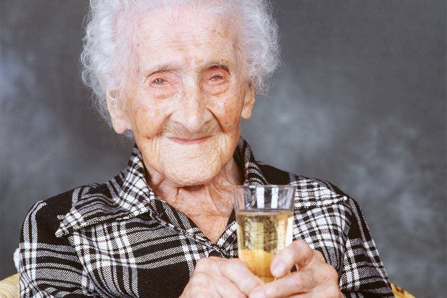 World's oldest woman lived on chocolates, wine and cigarettes