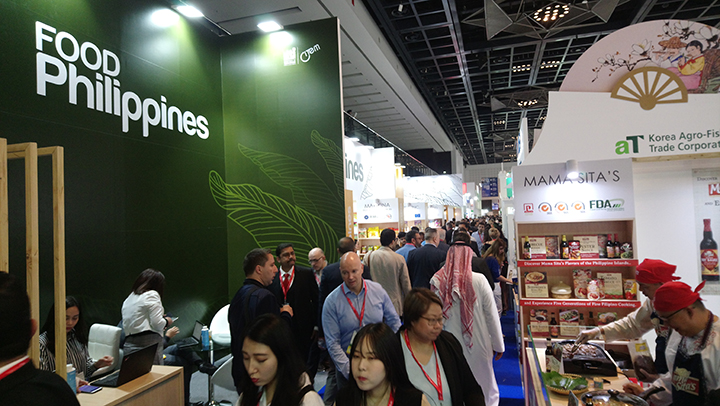 Strong PH presence at Gulfood due to OFWs