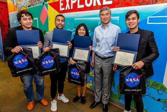 PH beats over 1000 int'l teams at NASA space app competition
