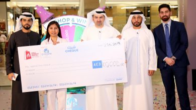 Photo of Filipina nurse who won Dh100,000 in DSF eyes to help sweeper