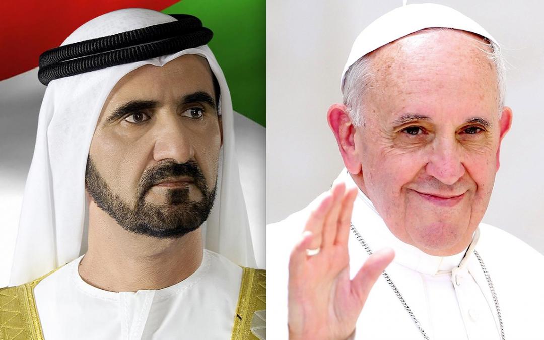 Mohammed bin Rashid welcomes Pope Francis' visit to UAE