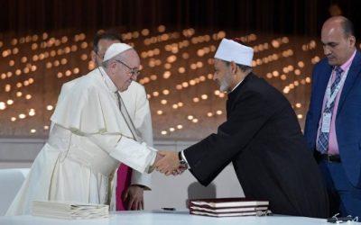 Pope Francis, Grand Imam of Al Azhar sign historic Abu Dhabi Declaration for world peace