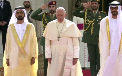 WATCH NOW: Pope Francis visit to Presidential Palace in Abu Dhabi