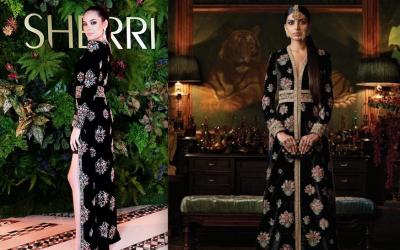Designer Sherri Hill accused of copycat wardrobe worn by Catriona Gray at NYFW 2019