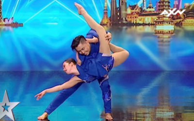 "WATCH: Filipino dance duo impresses judges on ""Asia's Got Talent"""