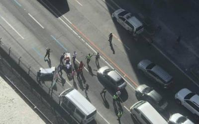 Two dead after gunmen ambush van along EDSA