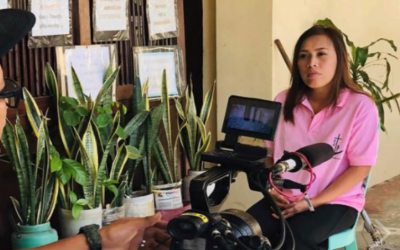 Meet former janitress-turned-millionaire