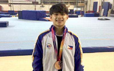 Young Pinoy wins gold medal at 2019 World Cup Gymnastics
