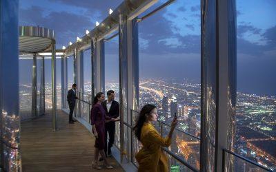 World's highest lounge opens in Burj Khalifa