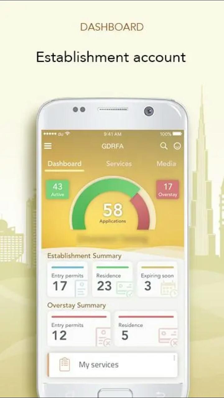 The Gdfra Filipino Launches Renewal Visa Emirates App