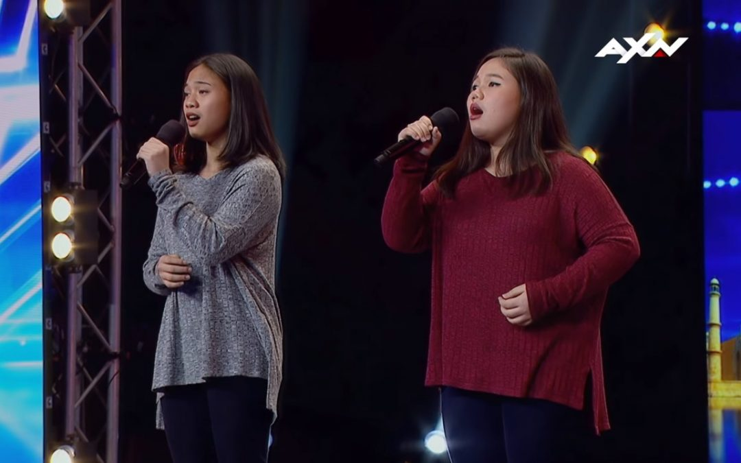 """WATCH: OFW daughters earn standing ovation from """"Asia's Got Talent"""" judges"""