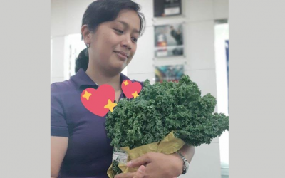 Pinoys come up with creative 'bouquets' for Valentine's Day