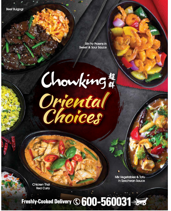 Savor the flavors of Asian cuisine with Chowking's Oriental Choices