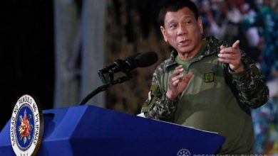 Photo of Duterte threatens to impose Martial Law if communist rebels disrupt aid