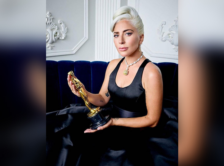 LOOK: Lady Gaga wears Audrey Hepburn's yellow diamond necklace worth more than P1.5 billion
