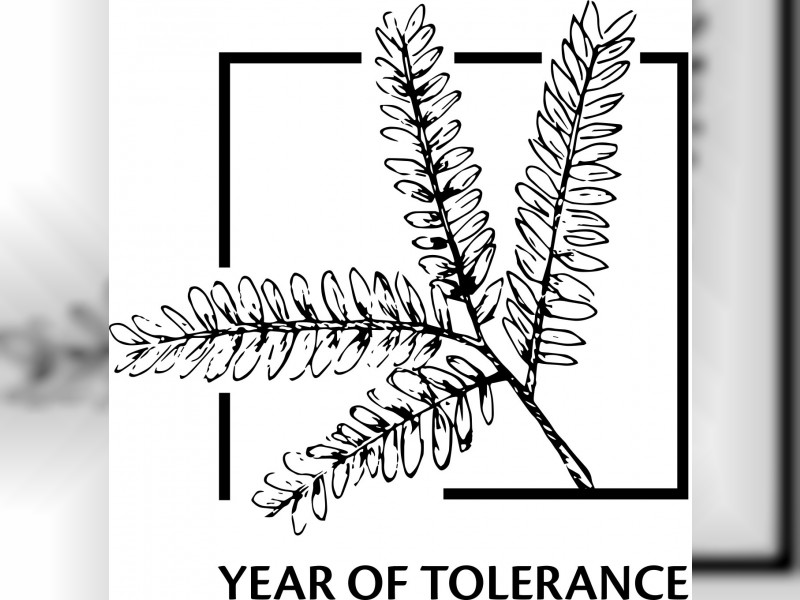 Logo for 'Year of Tolerance' in UAE revealed