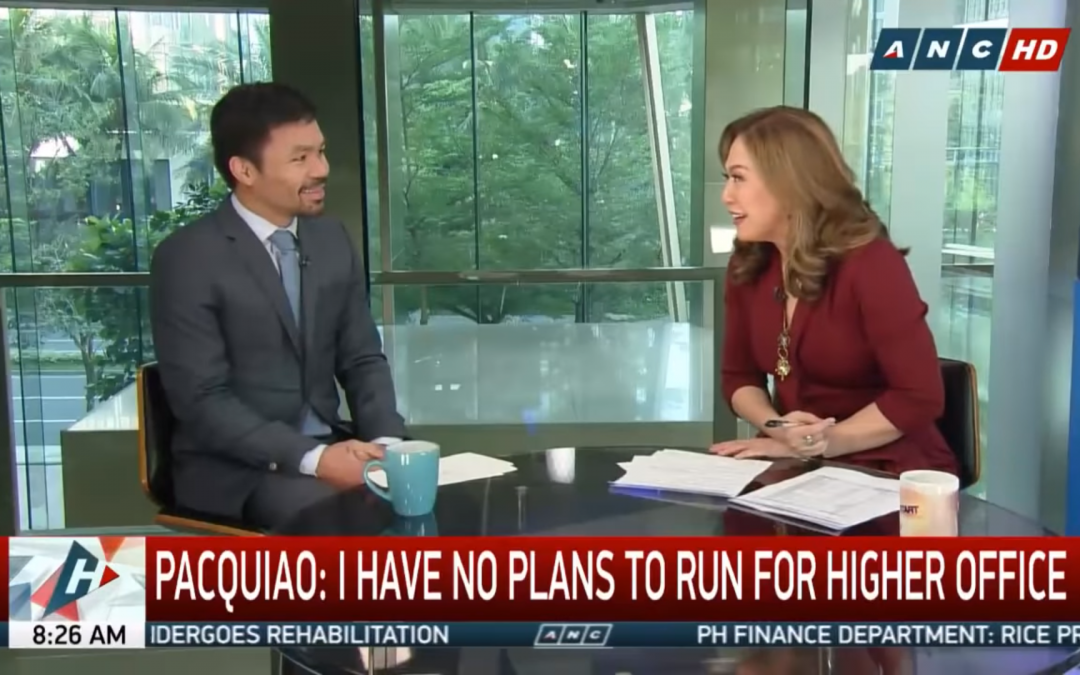 Pacquiao urges netizens to 'stop the hate' following 'Headstart' interview with Davila