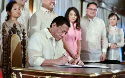 President Duterte signs 20 laws in 5 days