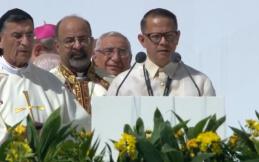 WATCH: Papal Mass intention for migrant workers in Tagalog