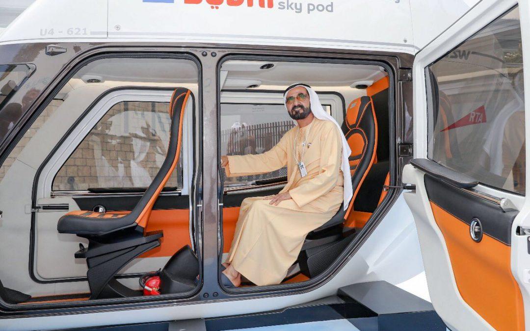 Travel from Abu Dhabi to Dubai in 15 minutes through Sky Pod