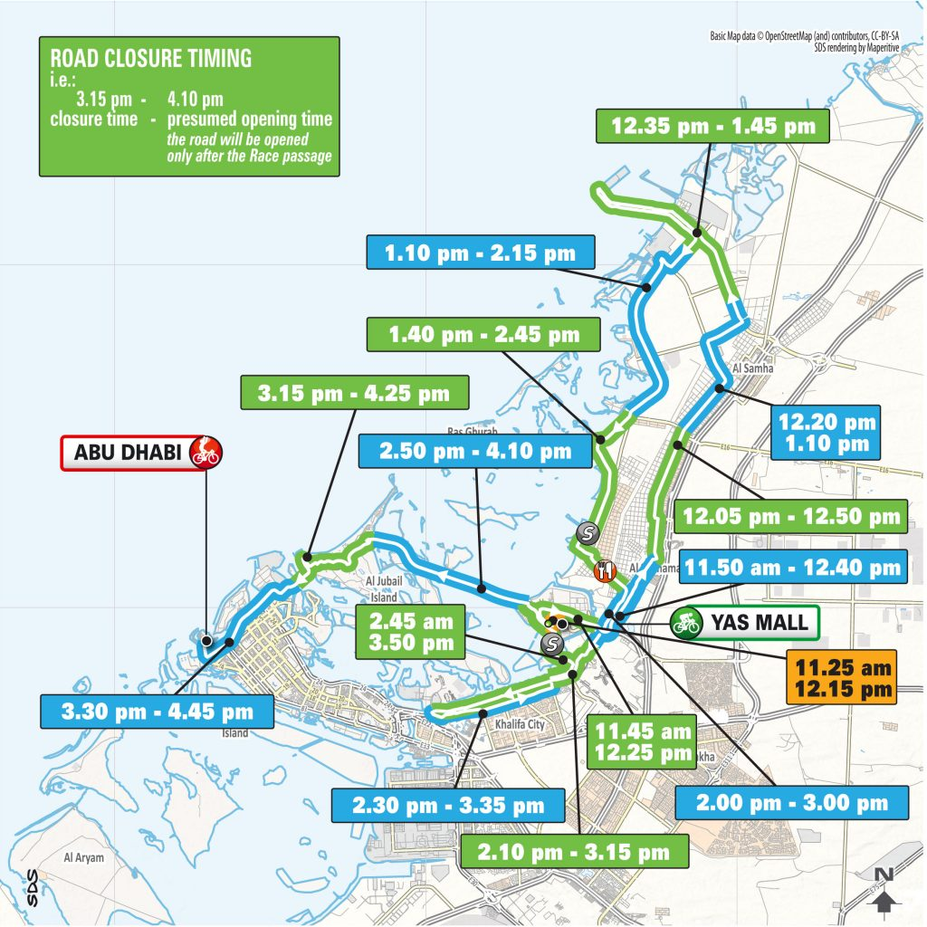 Road closures across UAE from Feb. 27-Mar. 2 announced - The ...