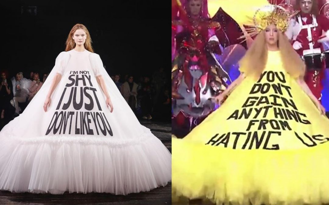 Fashion site calls out Vice Ganda for allegedly wearing couture imitations