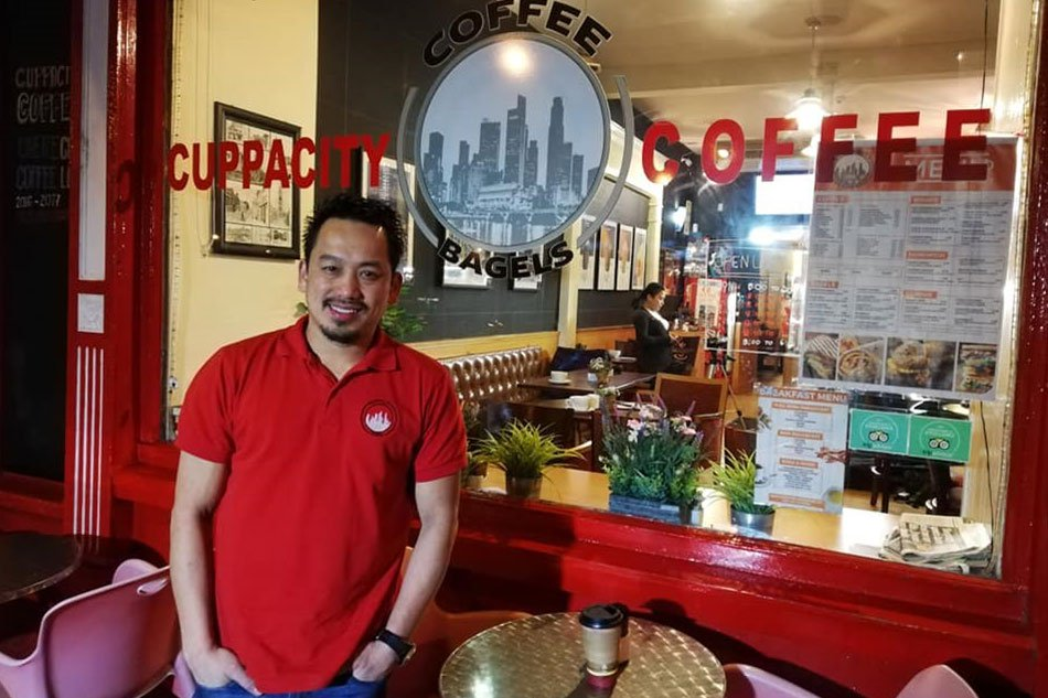 Pinoy's success story: From balut vendor to coffee shop owner in Ireland