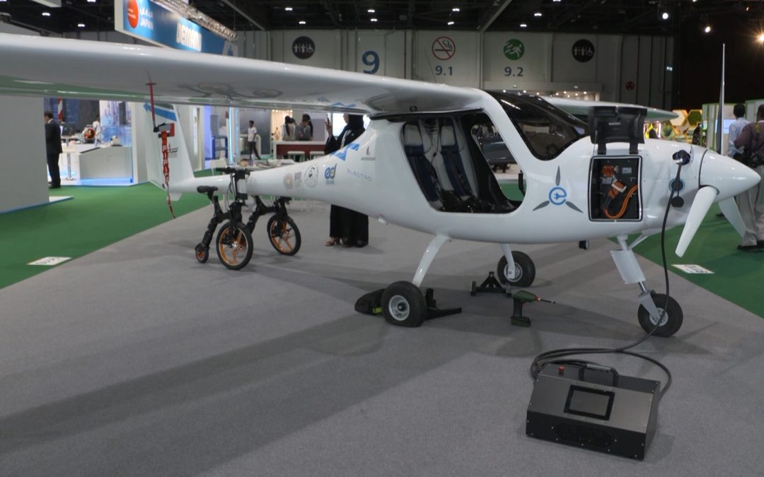 WATCH: UAE residents can fly electric aircraft by October 2019