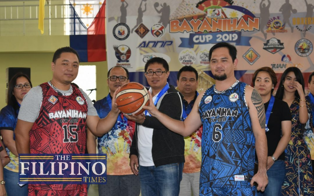 Bayanihan Cup 2019 Basketball League begins in Abu Dhabi