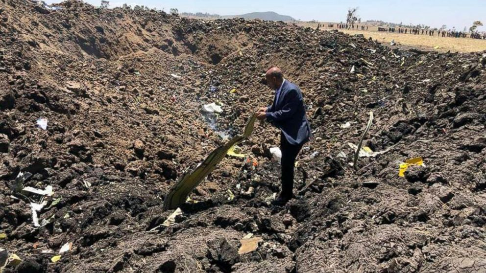 Ethiopian Airlines CEO lists over 30 nationalities killed in plane crash